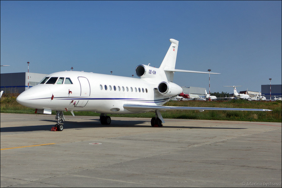 Dassault Falcon 900DX OE-ISM (cn 617)