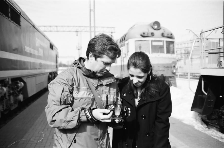 Kostya Romantikov, Arinka: photo by Anrey Tochenov