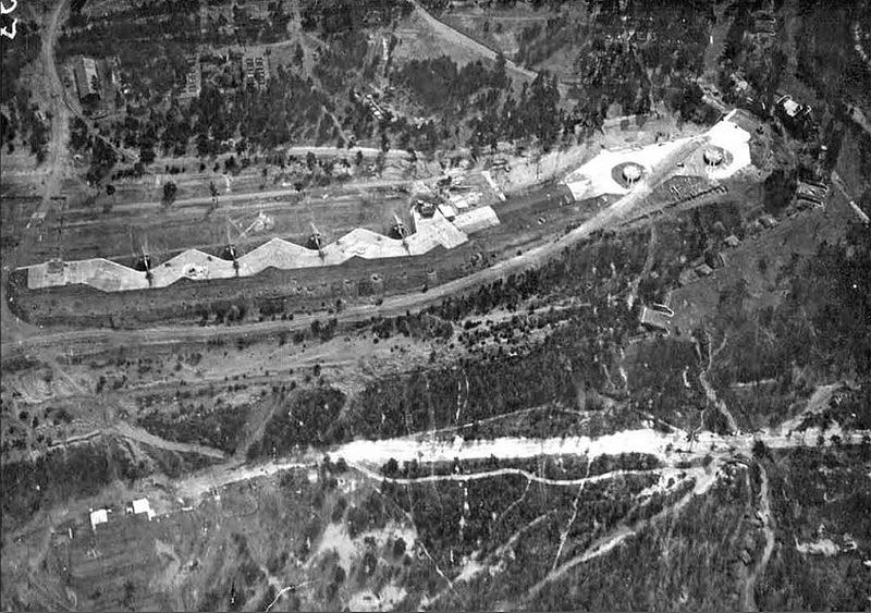 Открытая и башенная батареи форта «Красная Горка»