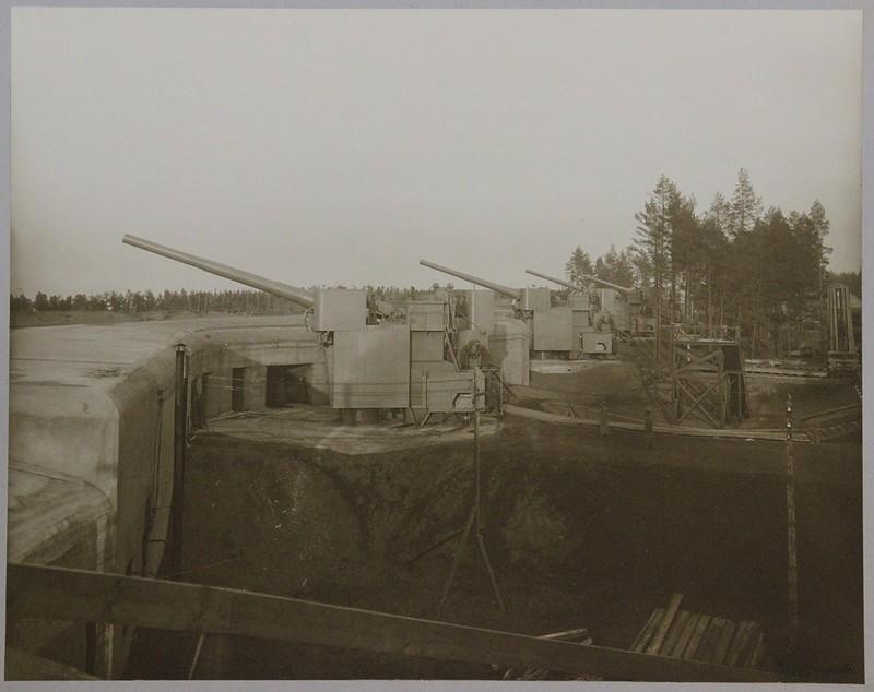 Батарея 12-дм (305-мм) орудий