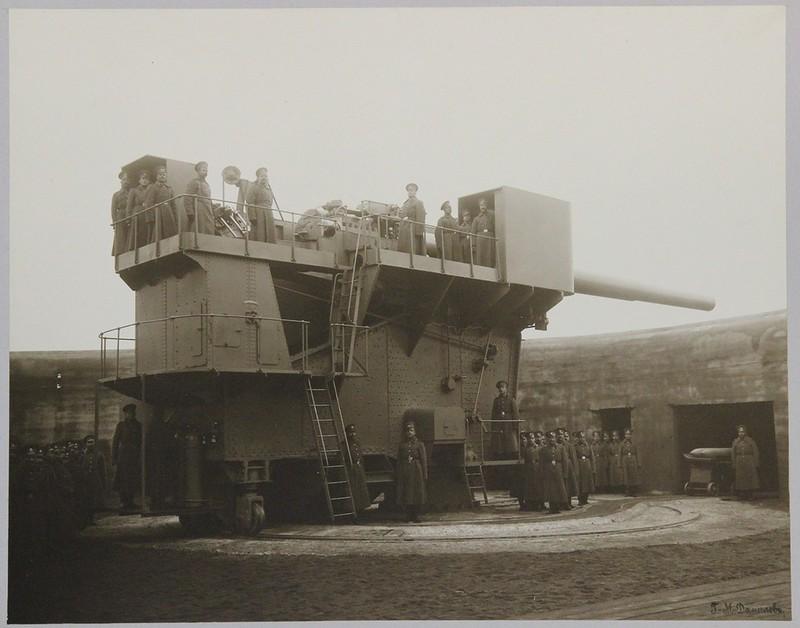 12-дм орудийная установка