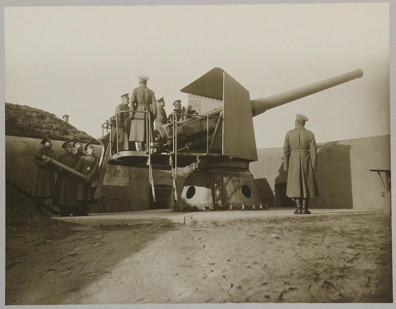 Прислуга 6-дм орудия Канэ