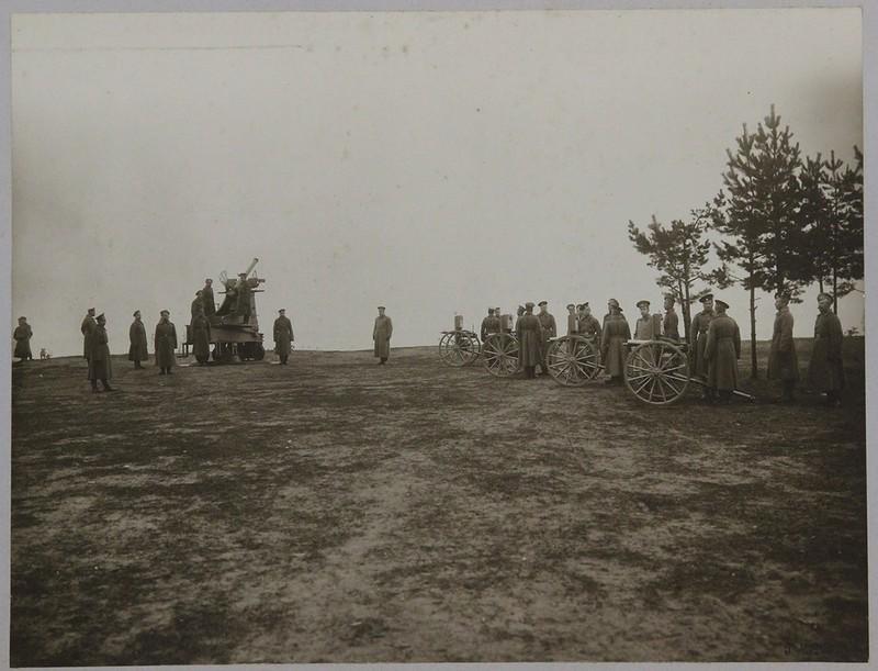 Пулеметная рота из состава сухопутной обороны форта
