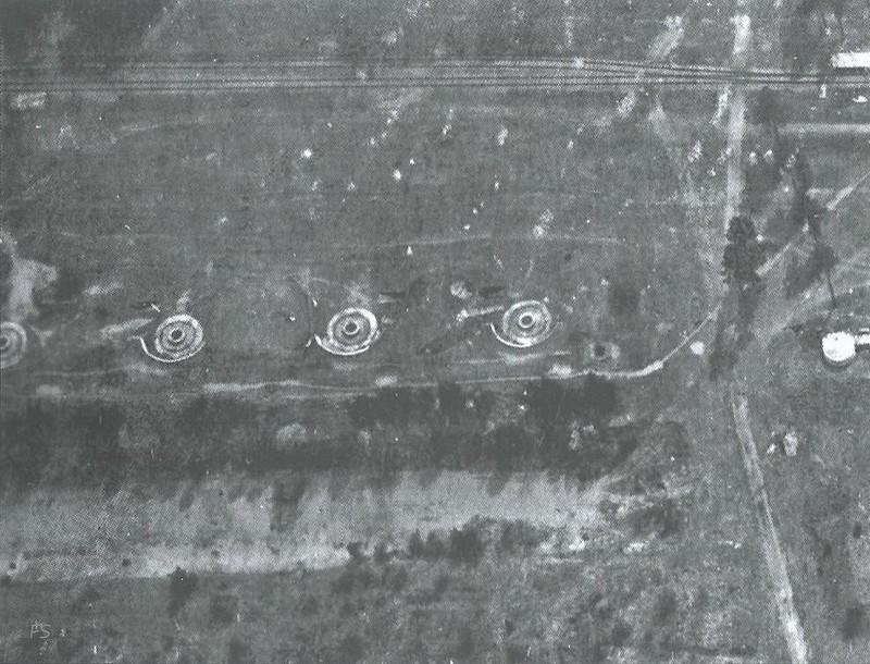 11-дм батарея (левый фланг)