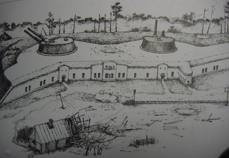 Реконструкция 12-дм (305-мм) башенной батареи форта «Красная Горка»