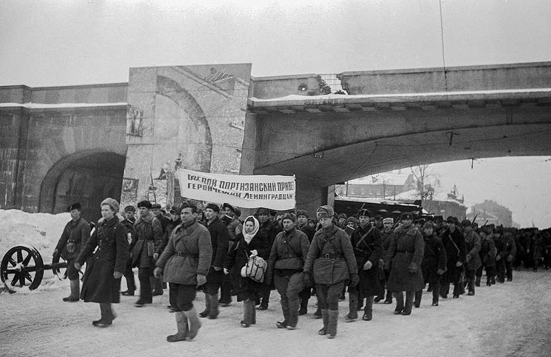 Партизаны на проспекте Стачек