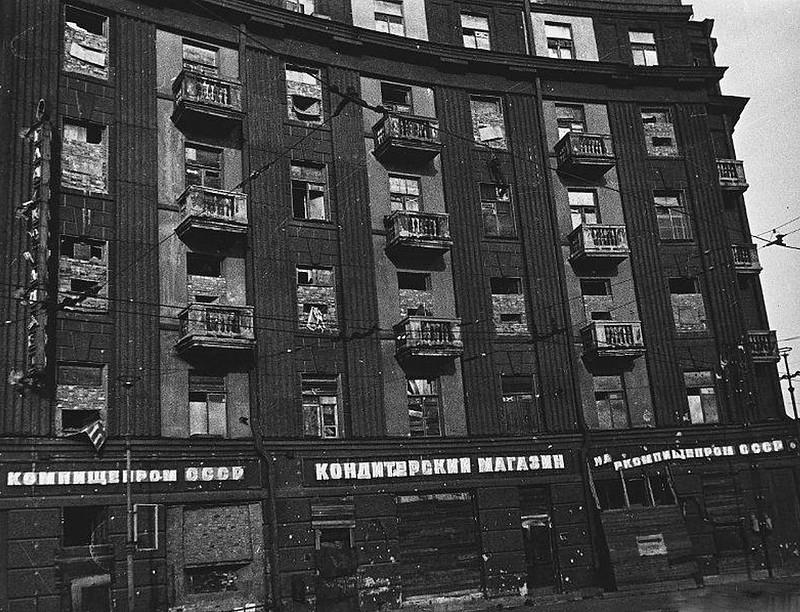 Дом-крепость. Блокадный Ленинград.