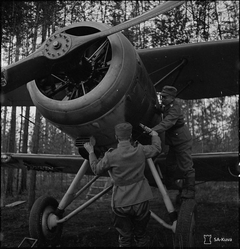 Viteleen lentokenttä. 1941.10.07