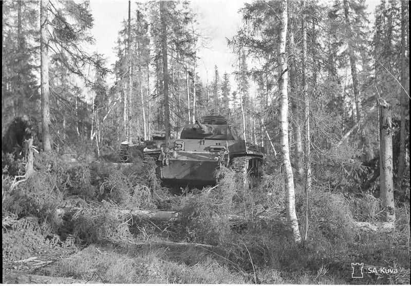 Kiestingin itäpuolella 1941.10.12