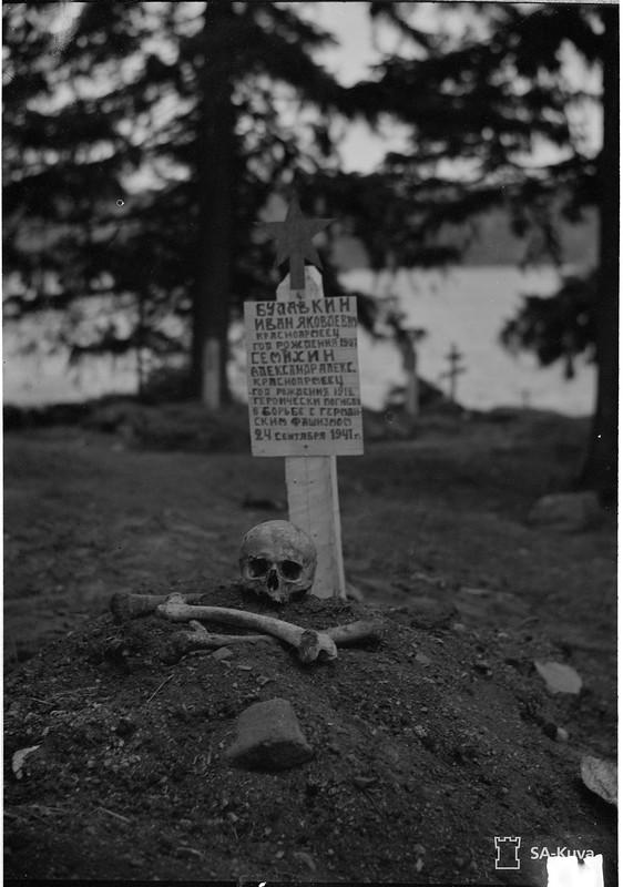 Mundjärven lahtikylä 1941.10.17