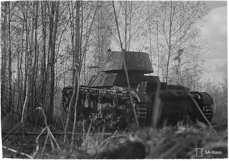 Petroskoin- Kontupohjan tieltä. 1941.10.16