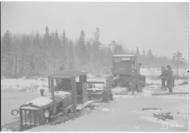Porajärvi, Soutjärvi ja Juustjärvi. 1941.10.25
