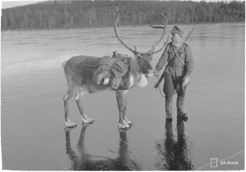Rovaniemi, Nautsi, Suonikylä, Nollemjärvi 1941.10.26