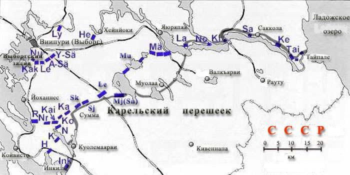 Линия Маннергейма (Mannerheim-linja)