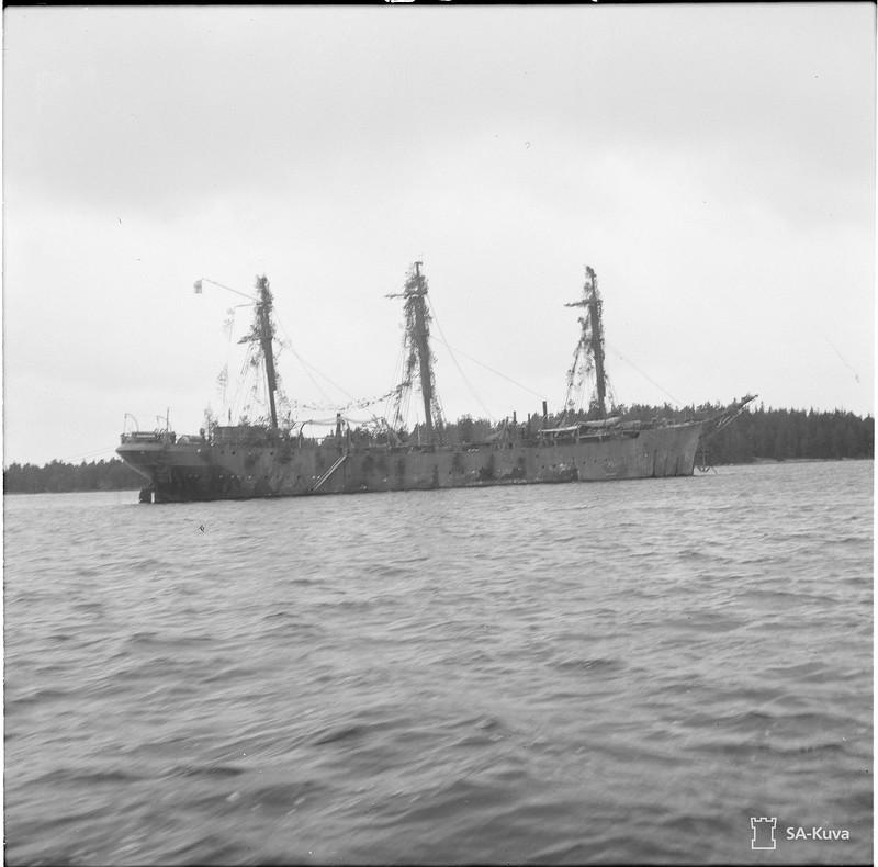 Panssarilaiva Väinämöinen 1941.10.21