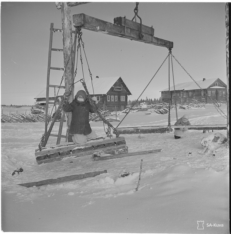 Mäkriänjärvi 1941.11.04