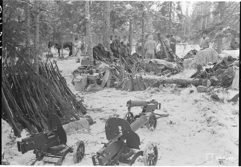 Kiestinjoen itäpuoli 1941.11.18