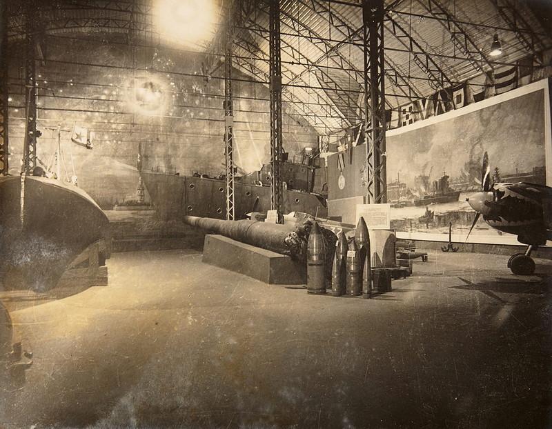 Зал Краснознаменного Балтийского флота