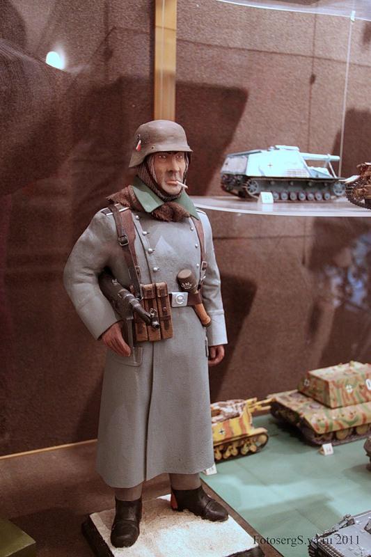Солдат германской армии