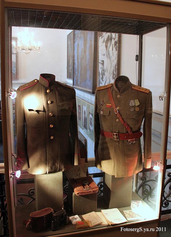 Форма и награды советских офицеров