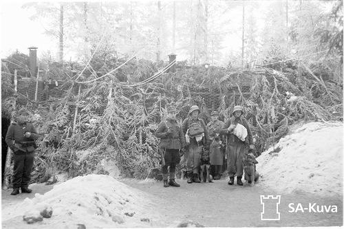 Батальонный КП Sk16 в декабре 1939 года