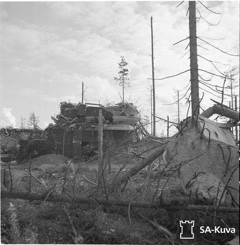 Батальонный КП Sk16 в сентябре 1941 года
