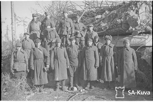 Советские пленные у КП Sk16 1941.09.26