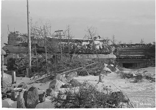 Батальонный КП Sk16 1941.11.29