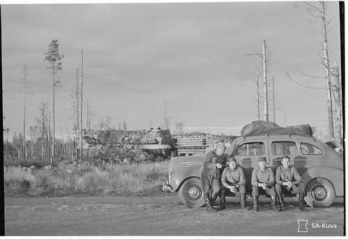 Батальонный КП Sk16 1943.09.01