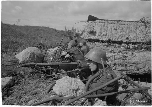 Батальонный КП Sk16 1944.06.18