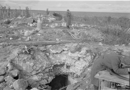 Polvakan-ja Järisevänpatterit Konevitsan edustalla 1941.09.22