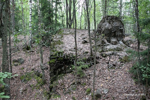 ДОТ Sj4 «Форт Поппиуса» (останки западного каземата)