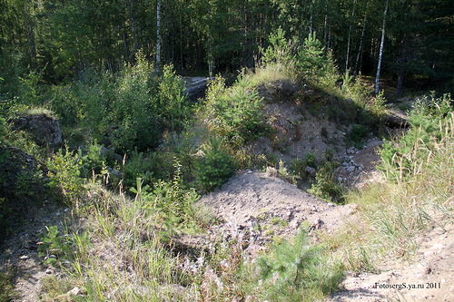 Следы «археологических» экскаваторных раскопок