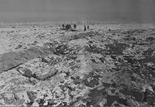 Вид высоты 65,5 после боя, освобожденной от финнов