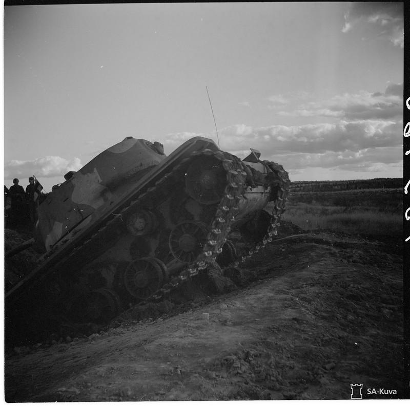 Немецкие танки в заполярье фото