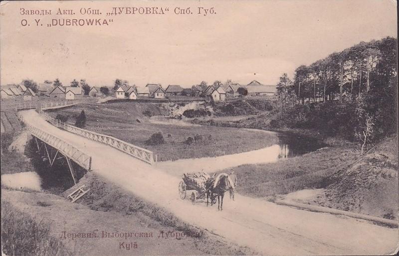 Деревня Выборгская Дубровка. 1910-1914 гг.