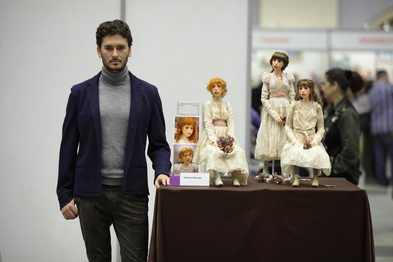 Художник Михаил Зайков из Краснодара и его куклы