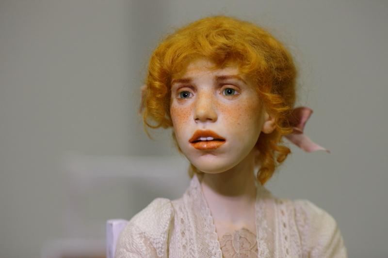 Авторская шарнирная кукла Михаила Зайкова живые фото