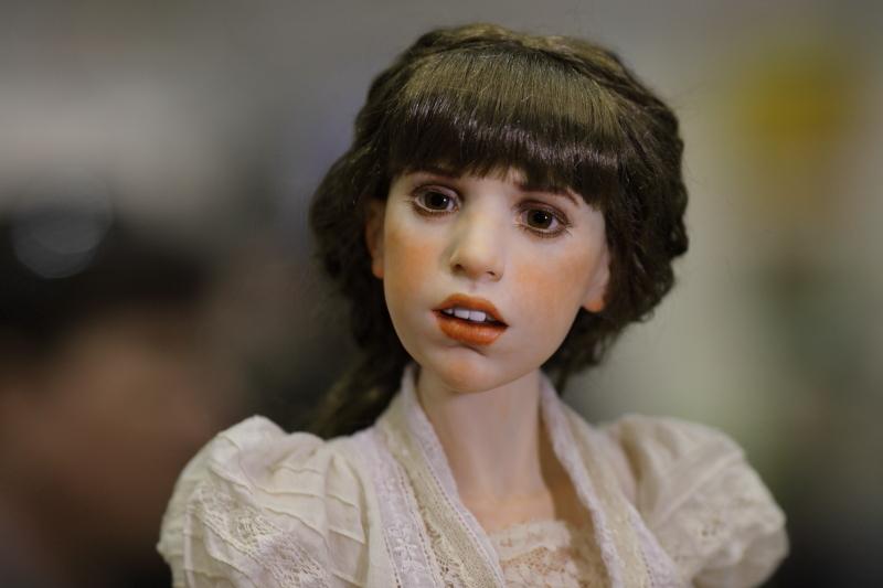 Художественная кукла Михаила Зайкова живое фото