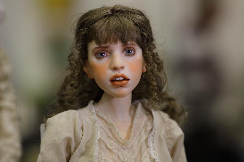 Художественная кукла Михаила Зайкова шарнирная