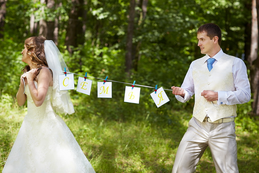 Аксессуары на свадьбу для фотосессии своими руками