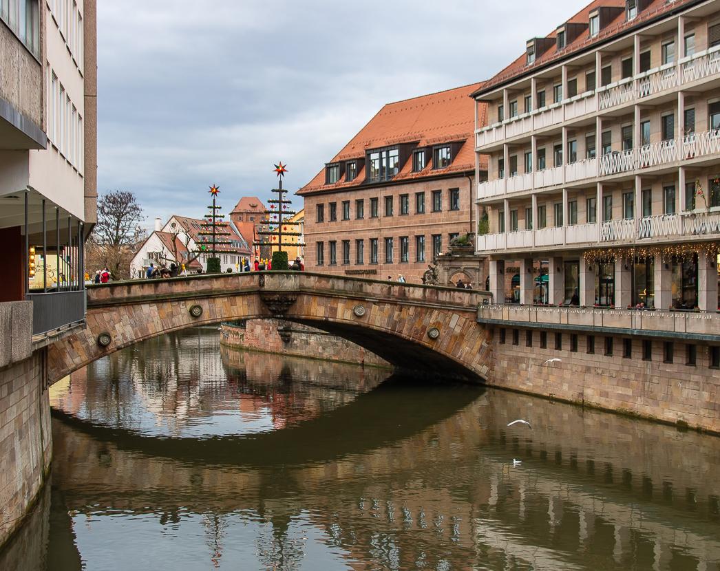 Мосты, чайки, лебеди, уточки