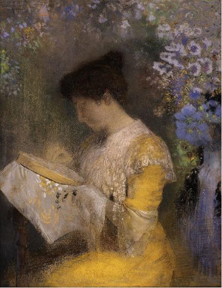 На пути к рисованию Madame Arthur Fontaine Marie Escudier, 1901