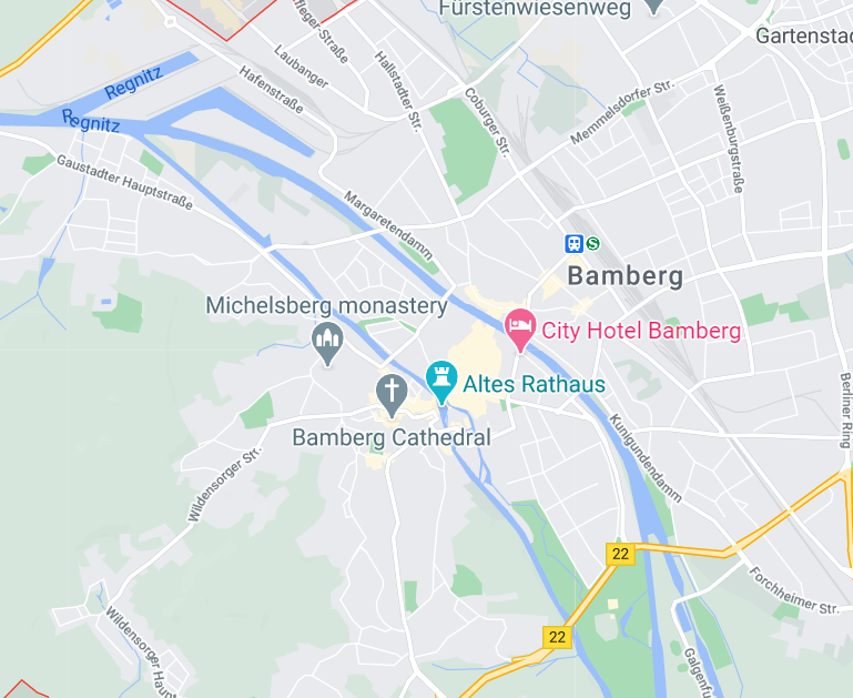 Новогодний Бамберг. Архитектурная прогулка