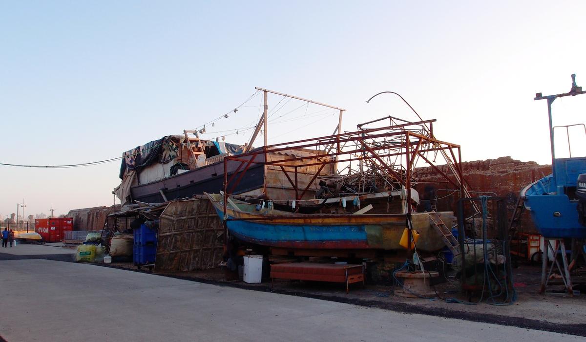 Яффо - порт