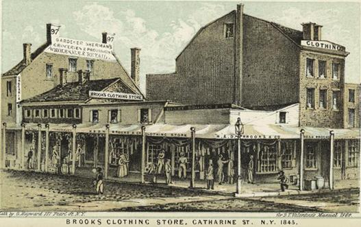Brooks_Clothing_Store,_Catharine_St._N.Y._1845