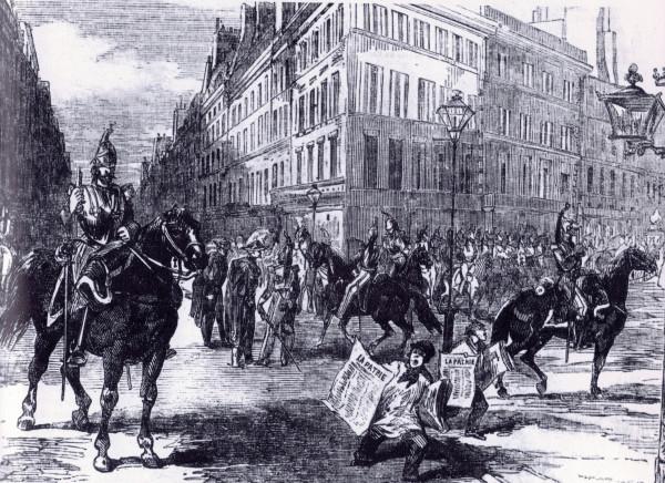 Cavalerie_rues_paris_(1851)