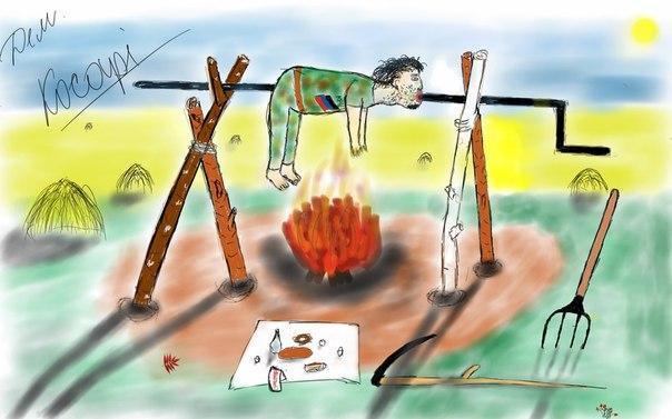 рисунки для карателей