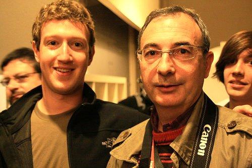 Jordi Mir и владелец мордокниги