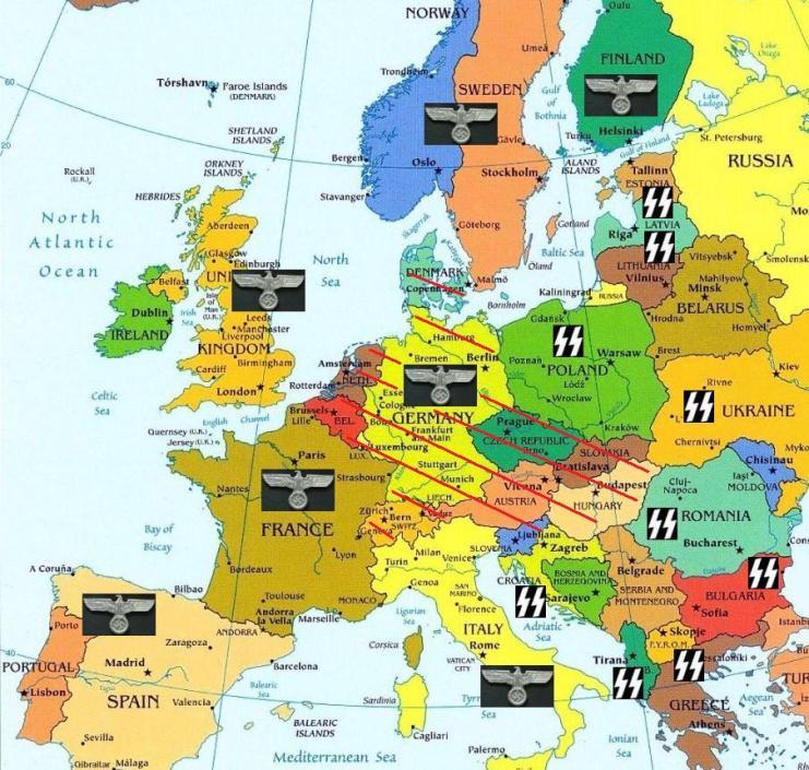 политическая-карта-Европы1